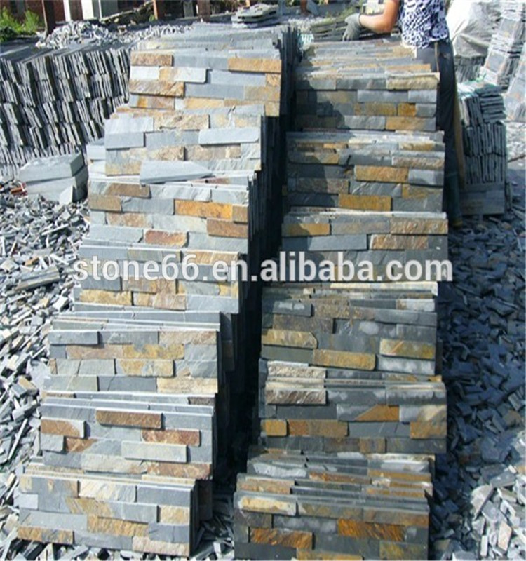 Cultured Stone Slate Tiles Exterior Wall Cladding kitchen tiles stone