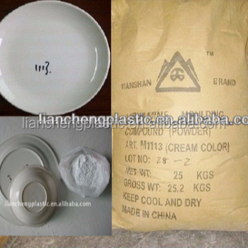 Melamine moulding powder(Unlimited color & Melamine tableware)