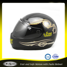 Dark classic full Face Helmets Mini motorcycle racing Helmet
