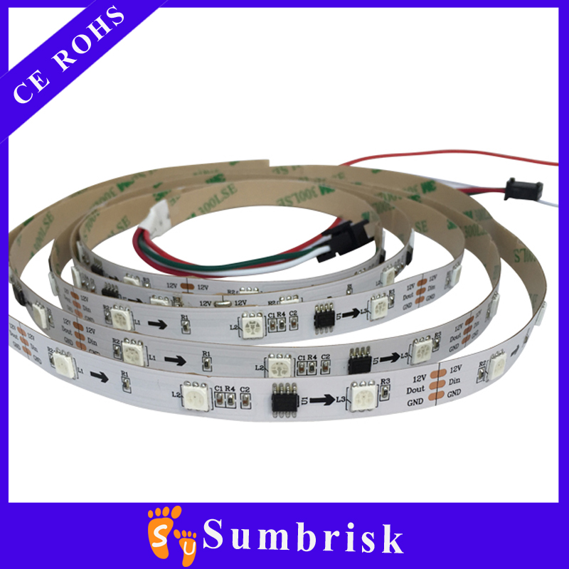 30 led 1 meter ws2812b full color led strip