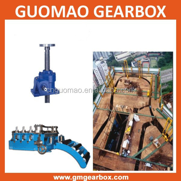Customized worm gear screw house jacks