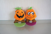 halloween plush material dog toy, squeak pet toys
