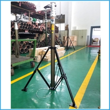 wireless antenna rotator , 3 legged steel tower for antennas , hydraulic mast