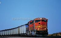 Train service Shenzhen via Zhengzhou block train to Moscow