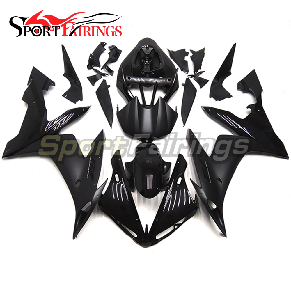 Full <strong>Fairings</strong> For Yamaha YZF <strong>R1</strong> <strong>04</strong> 05 06 ABS Plastic Injection Motorcycle <strong>Fairing</strong> Kit Body Kits Black