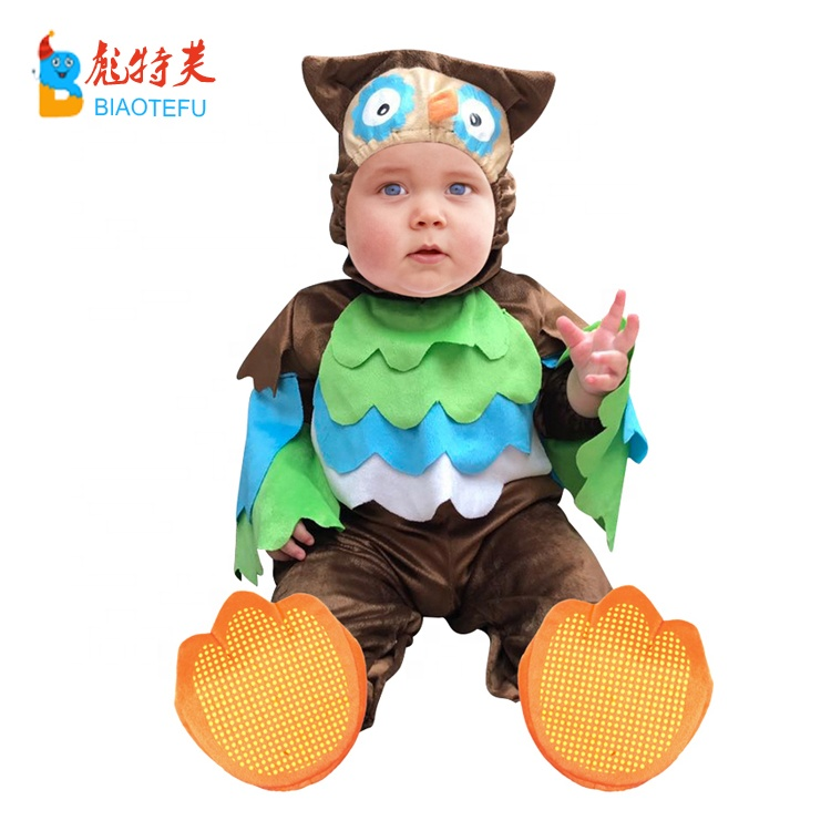 high quality toddlers animal owl cosplay costumes