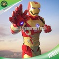 Lisaurus-R395 adult armadura ironman costume for kids party
