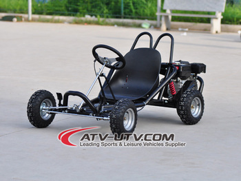Cheap 168cc 6.5hp gas go kart for adults with pedal brake