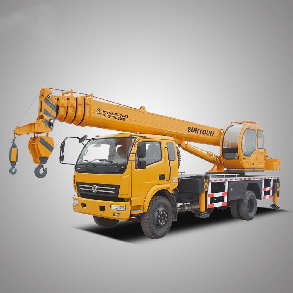 SunYoun 8Ton Hydraulic Mobile Crane For Sale
