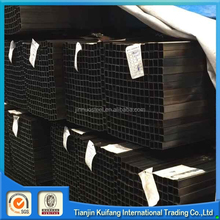 40x40 1mm thick square steel pipe black iron square tube