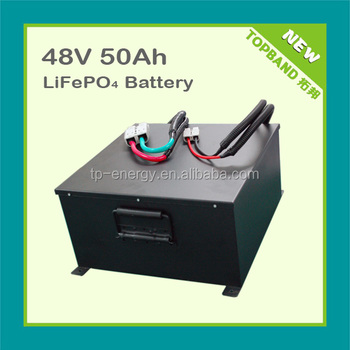 NEW 48V 50AH electric vehicle battery with lifepo4 technology