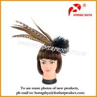 Fashion Women's Feather Fascinator Headband