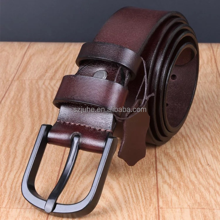 2017 unisex gender vintage COW leather 100% genuine leather belt
