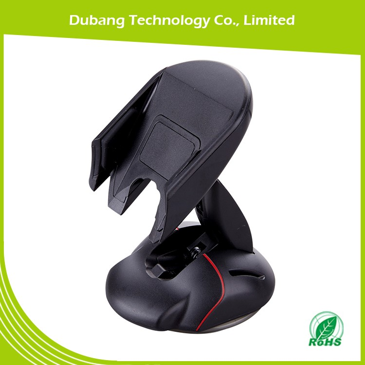 2017 premium PU injection suction cup windshield /dashboard cell phone car mount for 3.5-6 inch mobile phones