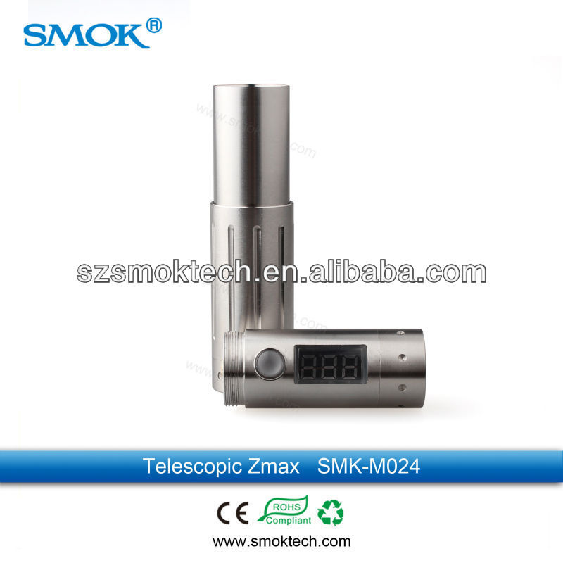 Alibaba china vv vw new design clone mechanical mod Smoktech telescopic zmax