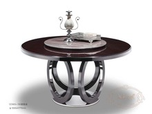 modern luxury dining room furniture stainless steel dining table