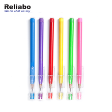 Reliabo Hotel Stationery High Quality Logo Printing Plastic Bullet Push Pencils With Cap