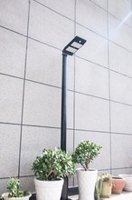 LQ-GY001 Ningbo 48 led outdoor solar light PIR All in one led garden solar lights