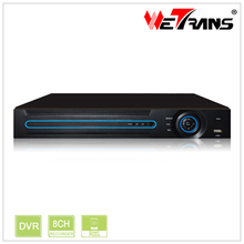WETRANS XVR5208D 5 in 1 Hybird DVR for IP/AHD/TVI/CVI/ Analog Camera 8 Channel CCTV1080P DVR Security System