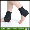 Self-heating neoprene foot ankle support