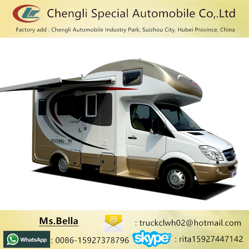 China left hand drive recreational vehicle