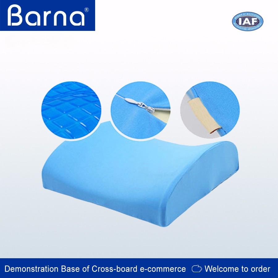 memory foam 3d ventilate mesh back lumbar support cushion pillow back pain cushion waist pillow