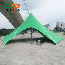 12m fireproof waterproof fabric star shade tent for market stall