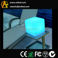 Battery Power Supply and wheel Position cube shaped led light
