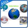 Inflatbale Earth World Globe Sky Ball Helium Planet For Solar System Air Balloon
