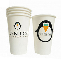Custom hot sale paper cups/disposable foam