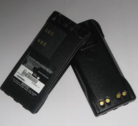 Walkie Talkie Battery Pack HNN9008AR for Motorola Radios GP328, GP329, GP338, GP339, GP360, GP380, GP540, GP580
