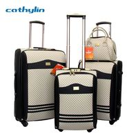 2013 popular luggage overstock trolley luggage