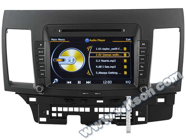 WITSON car monitor for MITSUBISHI LANCER