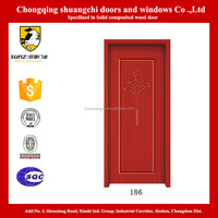 Craved Chinese Knot interior wood doors for home