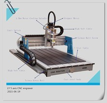 distributor wanted LY 6090 5 axis CNC router and 5 axis machine for woodworking