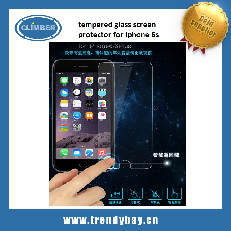 Usams brand tempered glass screen protector for Iphone 6s