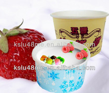 yogurt cup/ice cream paper cup/paper bowl with lid
