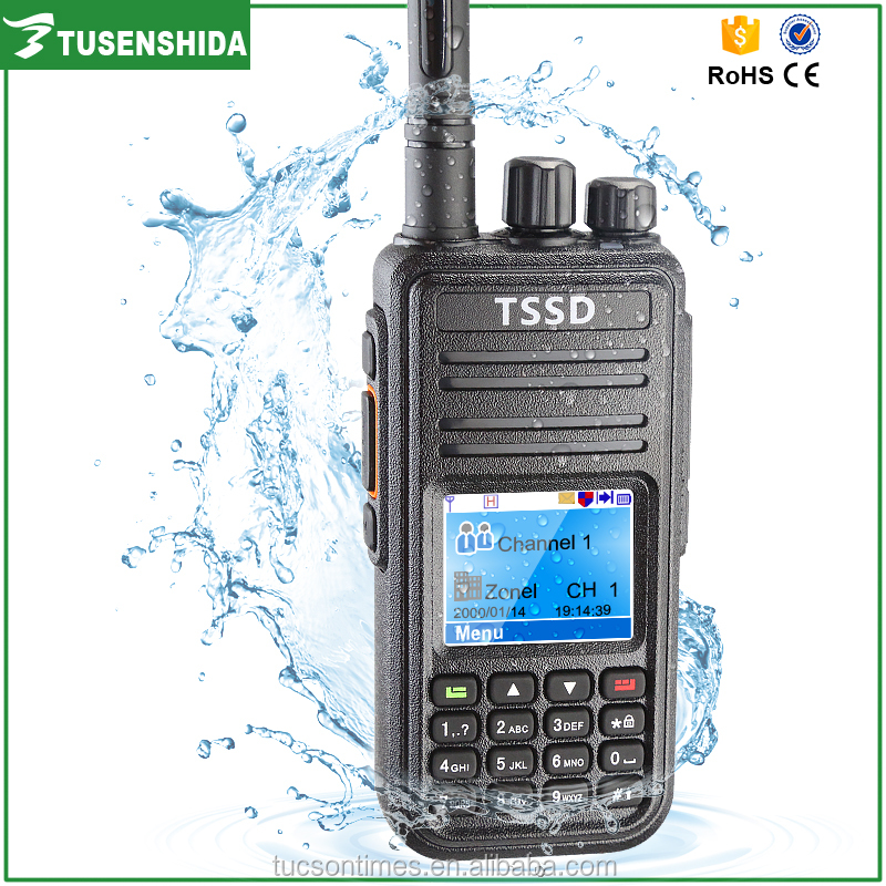 Waterproof mini encrypted vhf/uhf ham radio TS-D8200R