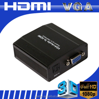 Mini vga to hdmi converter box with hdcp compliant
