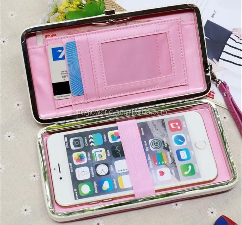 Book Leather Purse For iPhone 6 6S