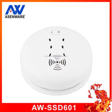 High quality standalone Optical Smoke Detector 9v battery powered ceiling installationm,very easy install battery smoke alarm