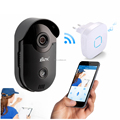 IP CCTV WIFI smart video doorbell with SD card snapshot free iOS&android APP download