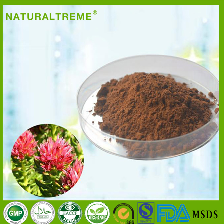 100% Pure Rhodiola Rosea Extract with 1% rhodioside