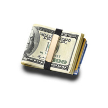 Grand Band Medium Elastic Money clip hinged cool money clips