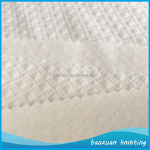 100%polyester moisture wicking home textile fabric mini jacquard bed mattress cover