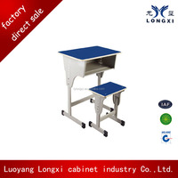 primary classroom furniture metal frame student desk and chair
