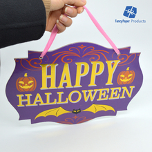 Happy Hallowmas Cardboard Sign Halloween Product