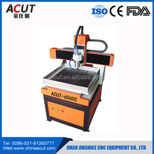 Factory Price!!! Hobby 6060 small desktop ball screw drive mini cnc router for wood metal plastic