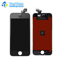 Taoyuan for iphone 5g/ 5s/ 5c replacement lcd screen touch screen accepted paypal