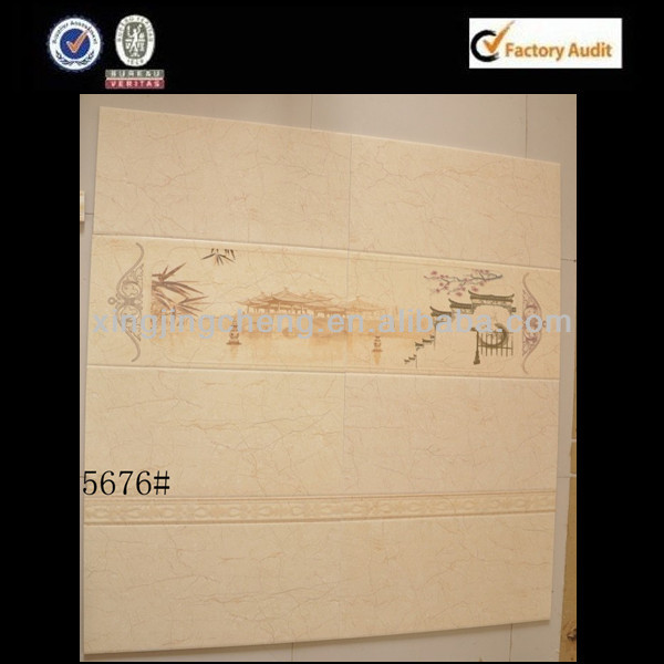 construction suppiles decorative edges to print ceramic wall tile